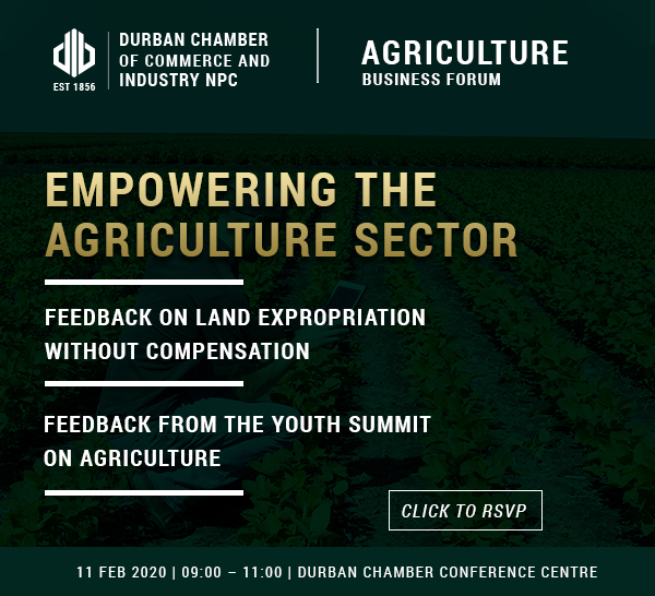 Agriculture Business Forum – 11 February 2020