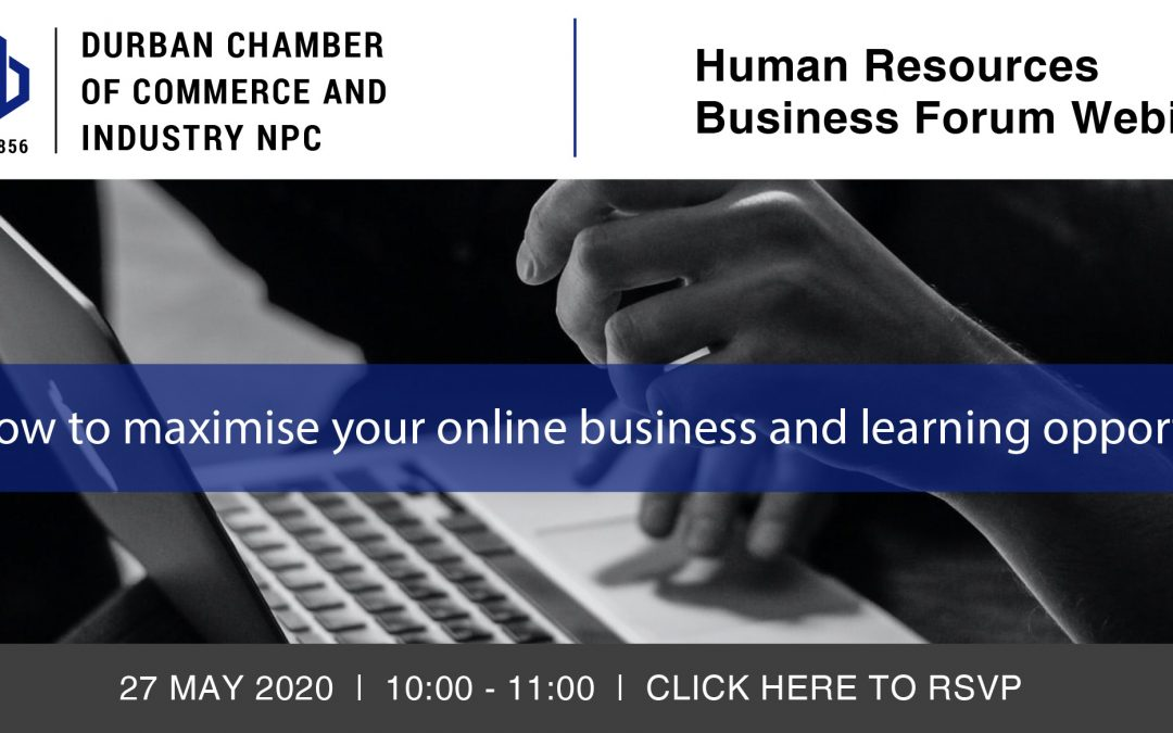 Webinar: Human Resources Business Forum – 27 May 2020