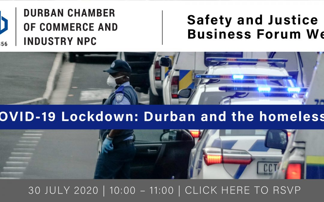 Webinar: Safety and Justice Business Forum – 30 July 2020