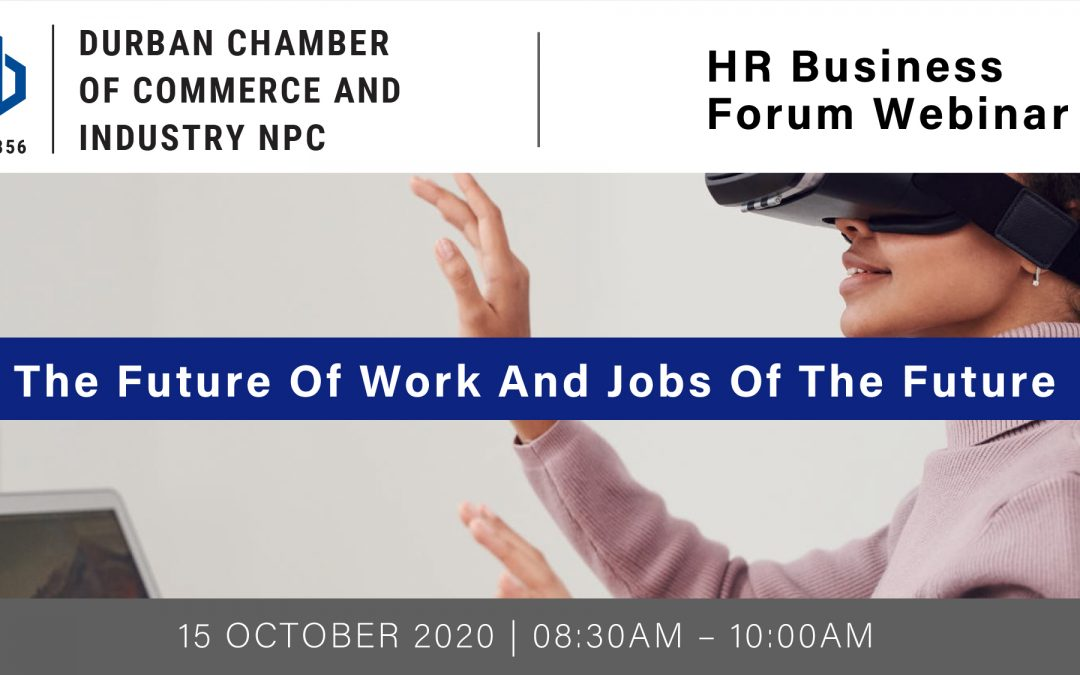 Webinar: HR Business Forum – 15 October 2020