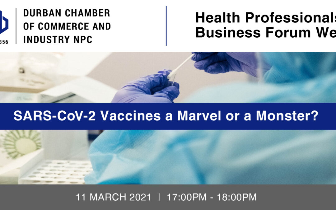 Webinar: Health Professionals Business Forum – 11 March 2021
